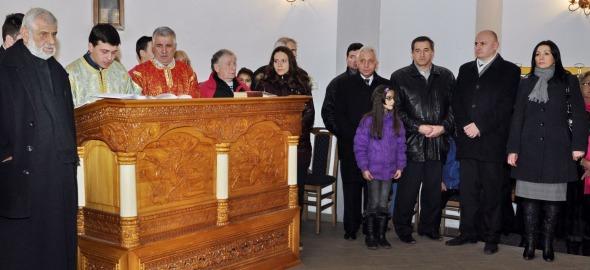 Na liturgiji u crkvi Svete Petke