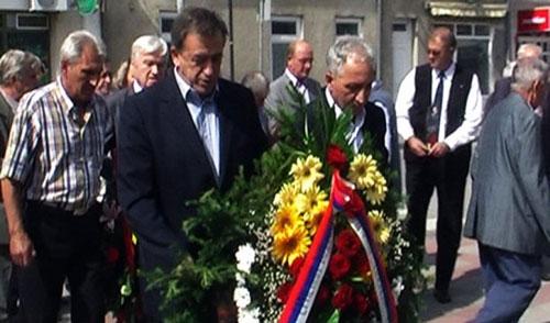 U ime grada Požarevca venac položili Miomir Ilić i Milić Jovanović