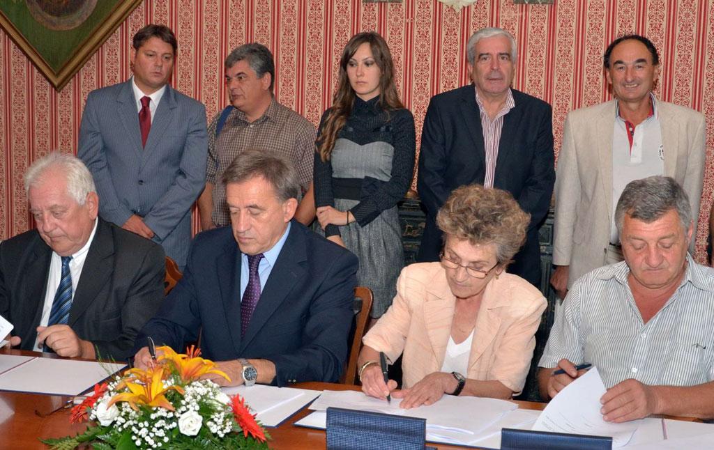 Potpisivanje ugovora sa Direkcijom za izgradnju
