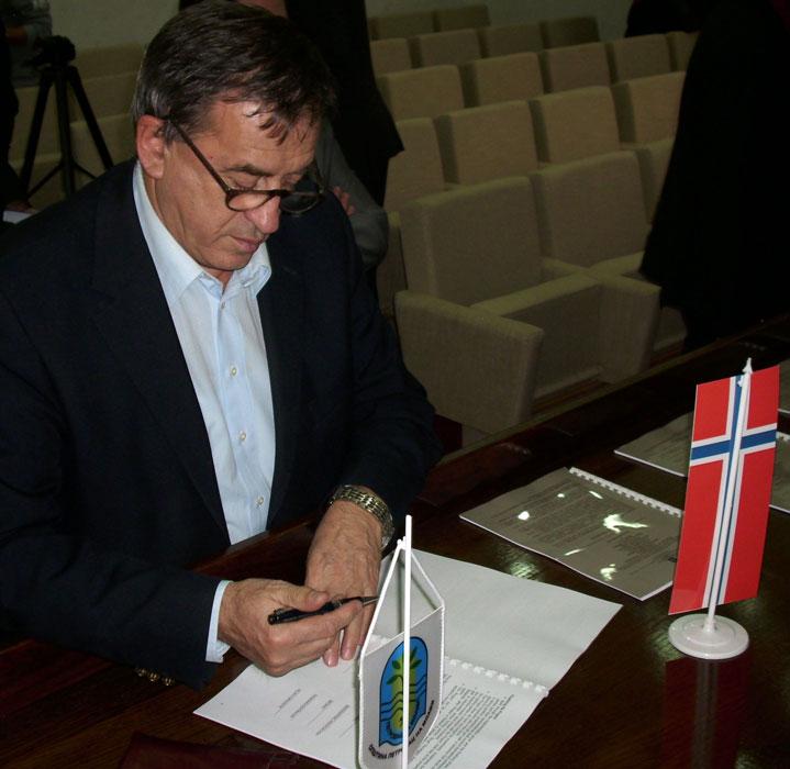 Градоначелник потписује Споразум