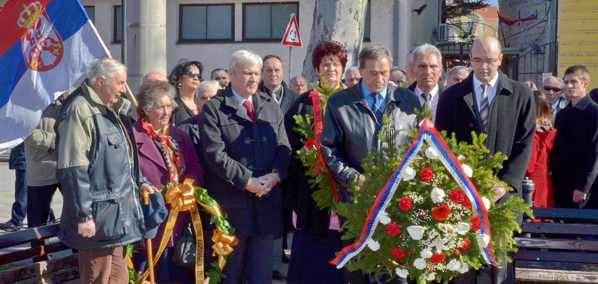 Kraj spomenika Vojvodi Milenku