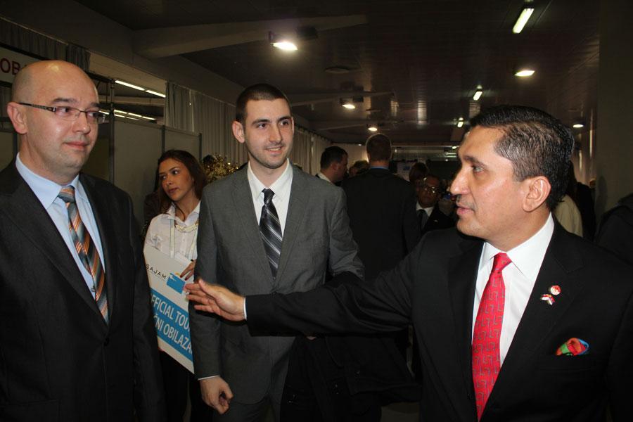 Bane Spasović i ambasador Indonezije