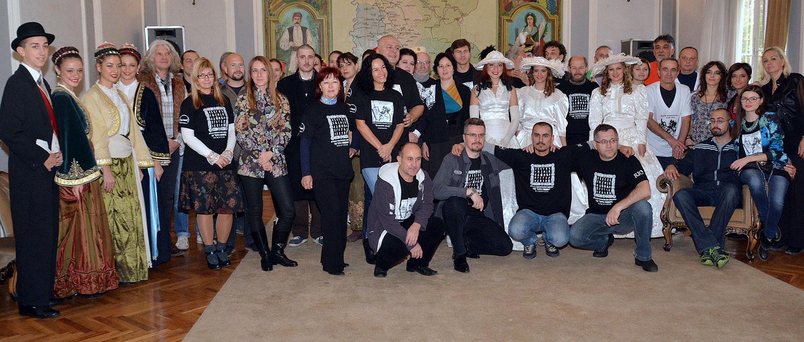 Učesnici Kolonije u Gradskom zdanju