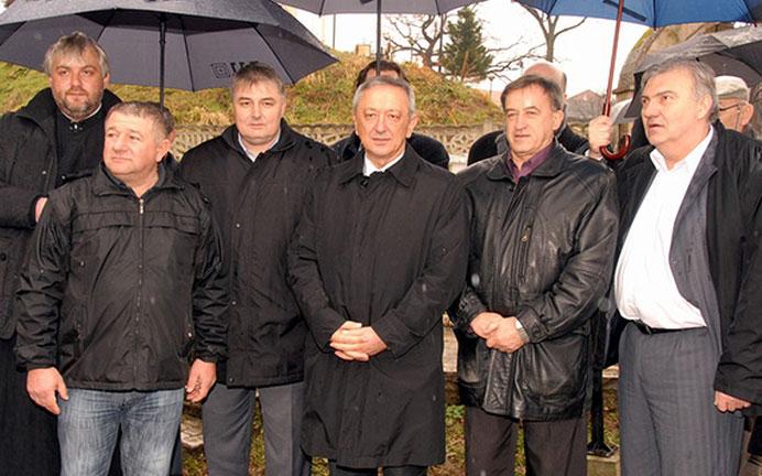 Функционери у Кличевцу
