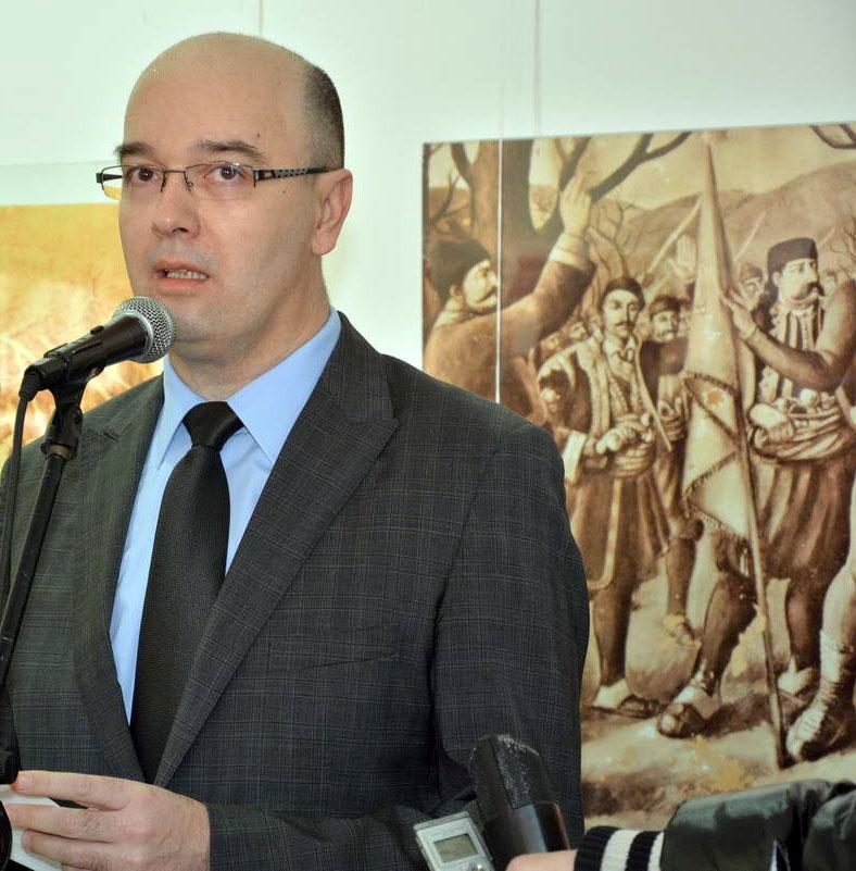 Bane Spasović, predsednik skupštine grada