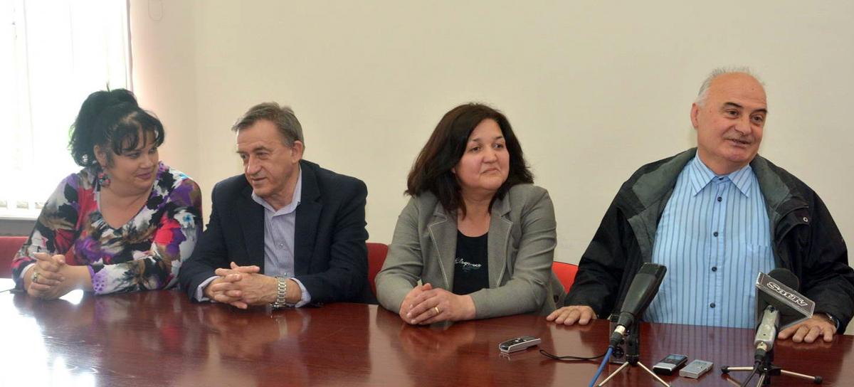 sleva nadesno – Pejić, Ilić, Živković i Petrašković