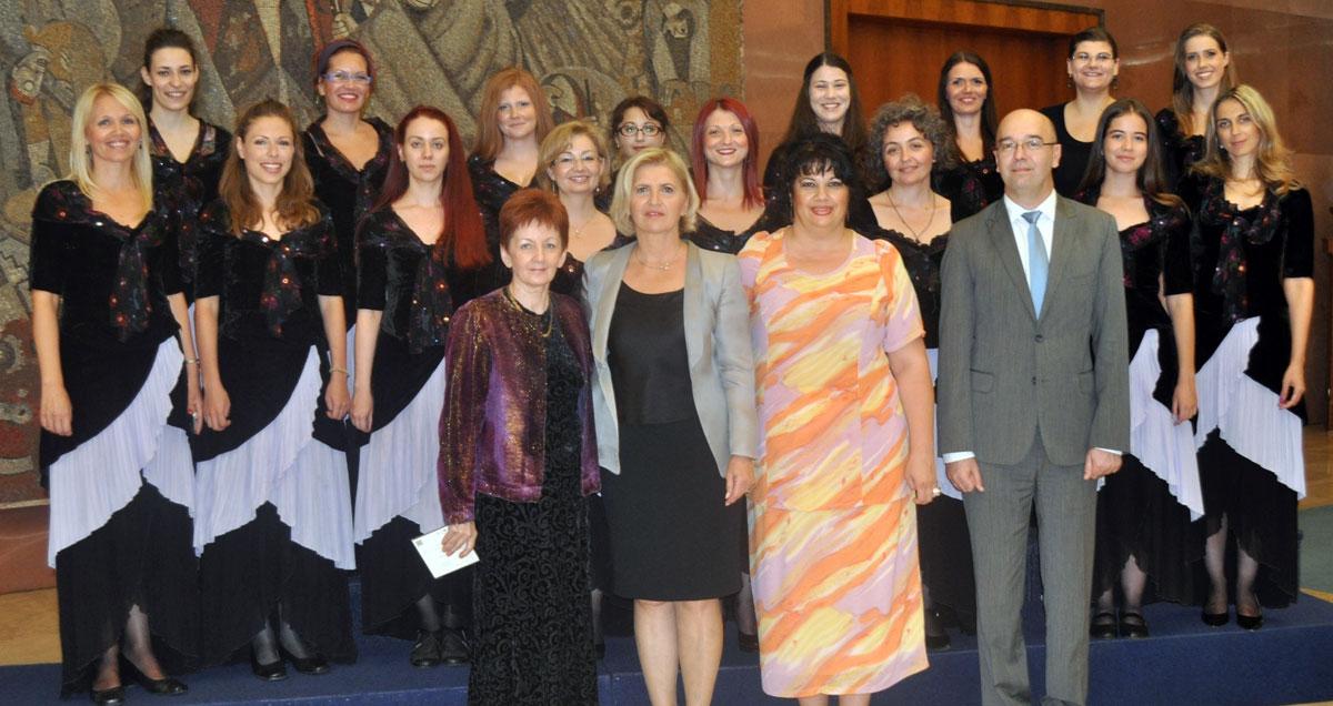 Sa svečanosti dodele priznanja najboljim đacima
