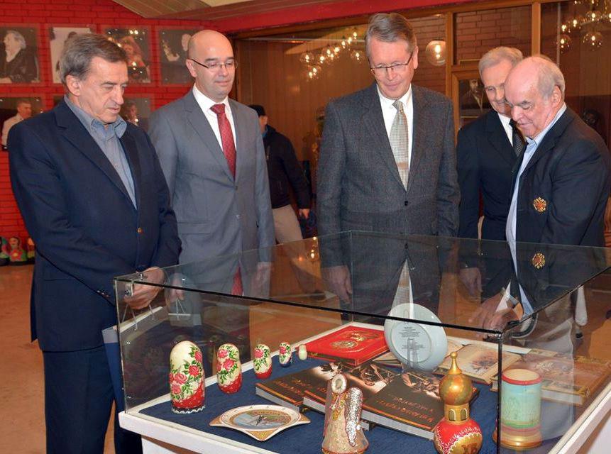 Prilikom posete ambasadora Rusije