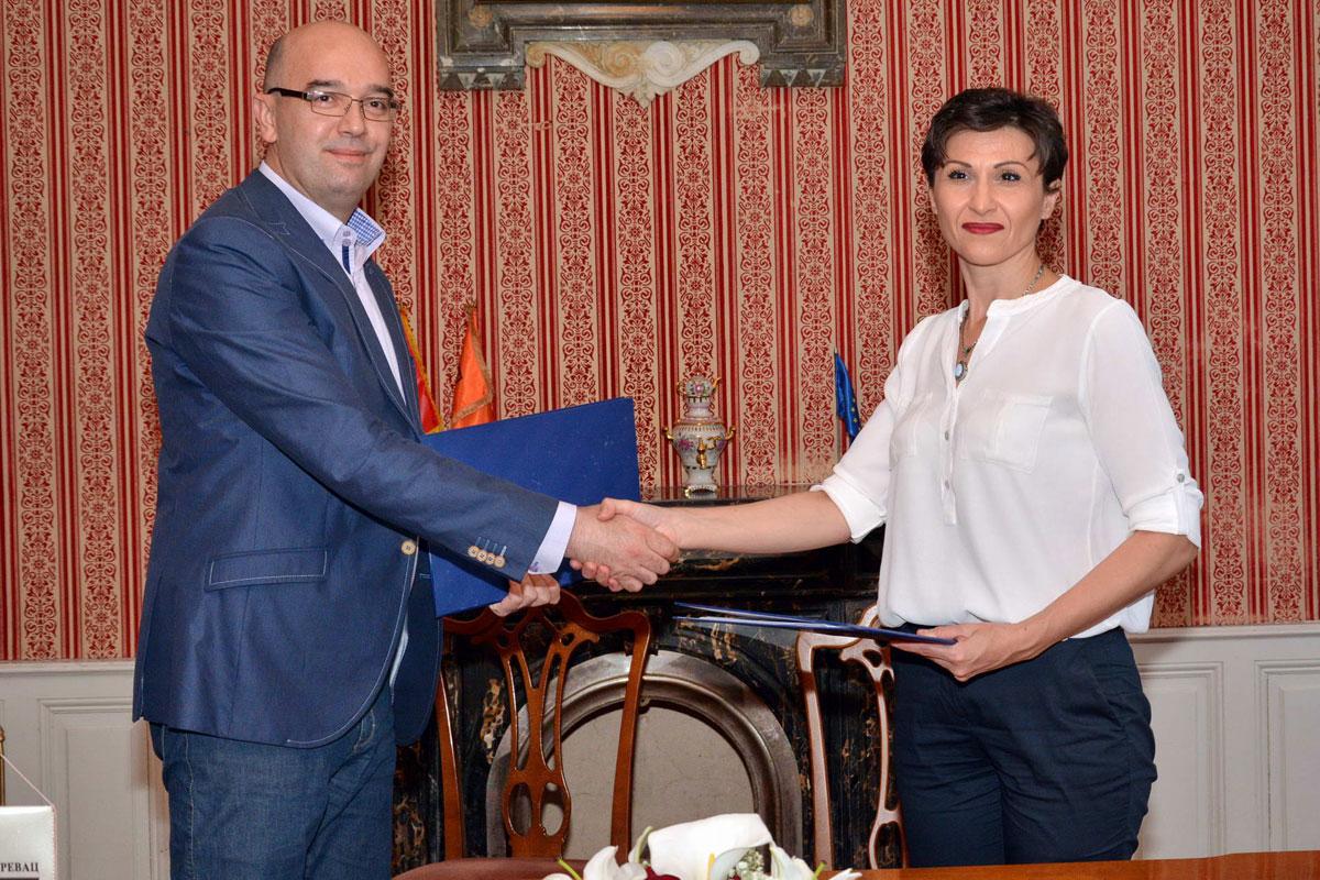 Prilikom potpisivanja sporazuma