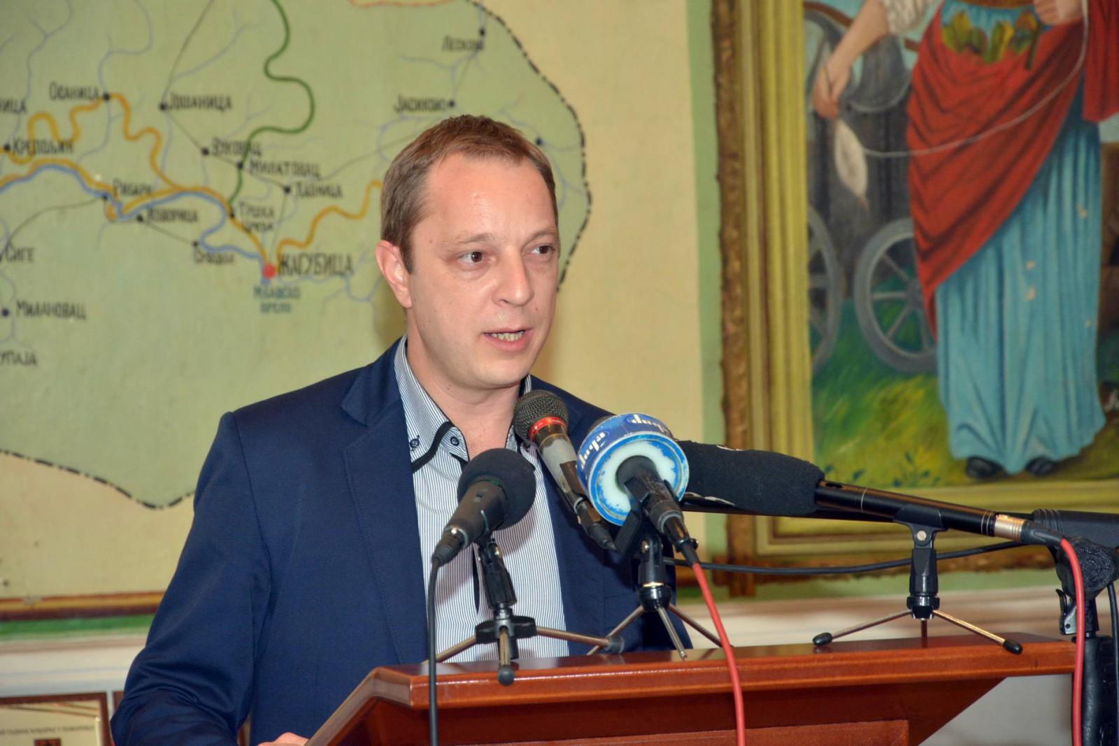 Bojan Ilić, predsednik Skupštine Grada Požarevca