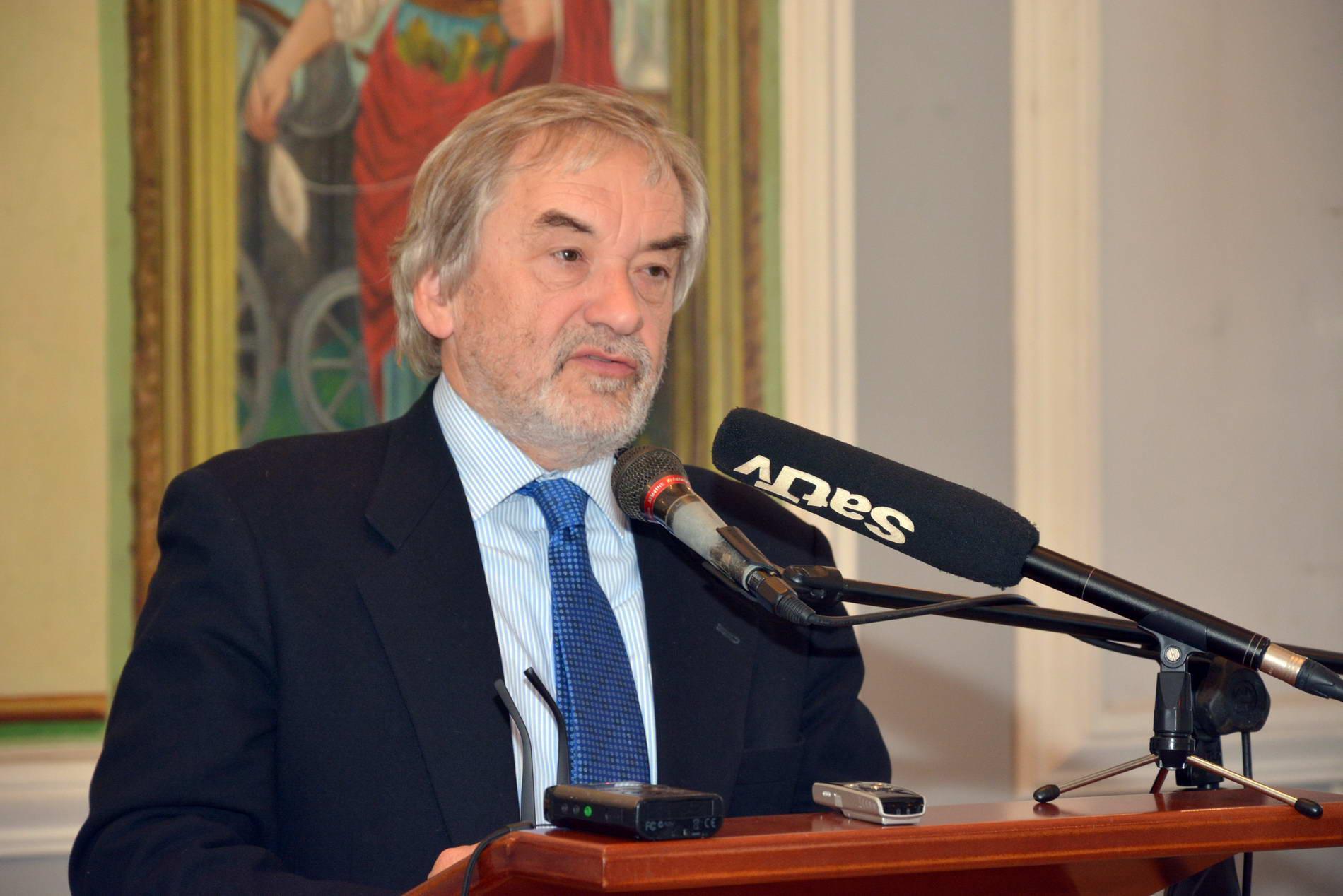 Ambasador Slovenije Vladimir Gasparič