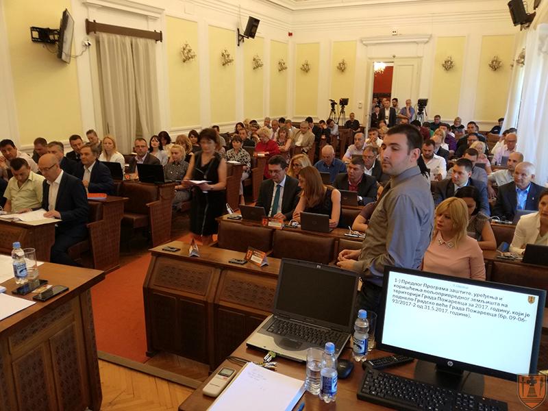 Na sednici Skupštine Grada Požarevca usvojen završni račun budžeta za 2016. godinu koji je realizovan 73,34 odsto 3