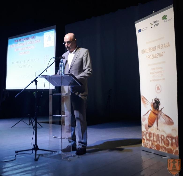 Gradonačelnik Požarevca Bane Spasović otvorio 8. Međunarodno savetovanje pčelara Braničevskog okruga 15032
