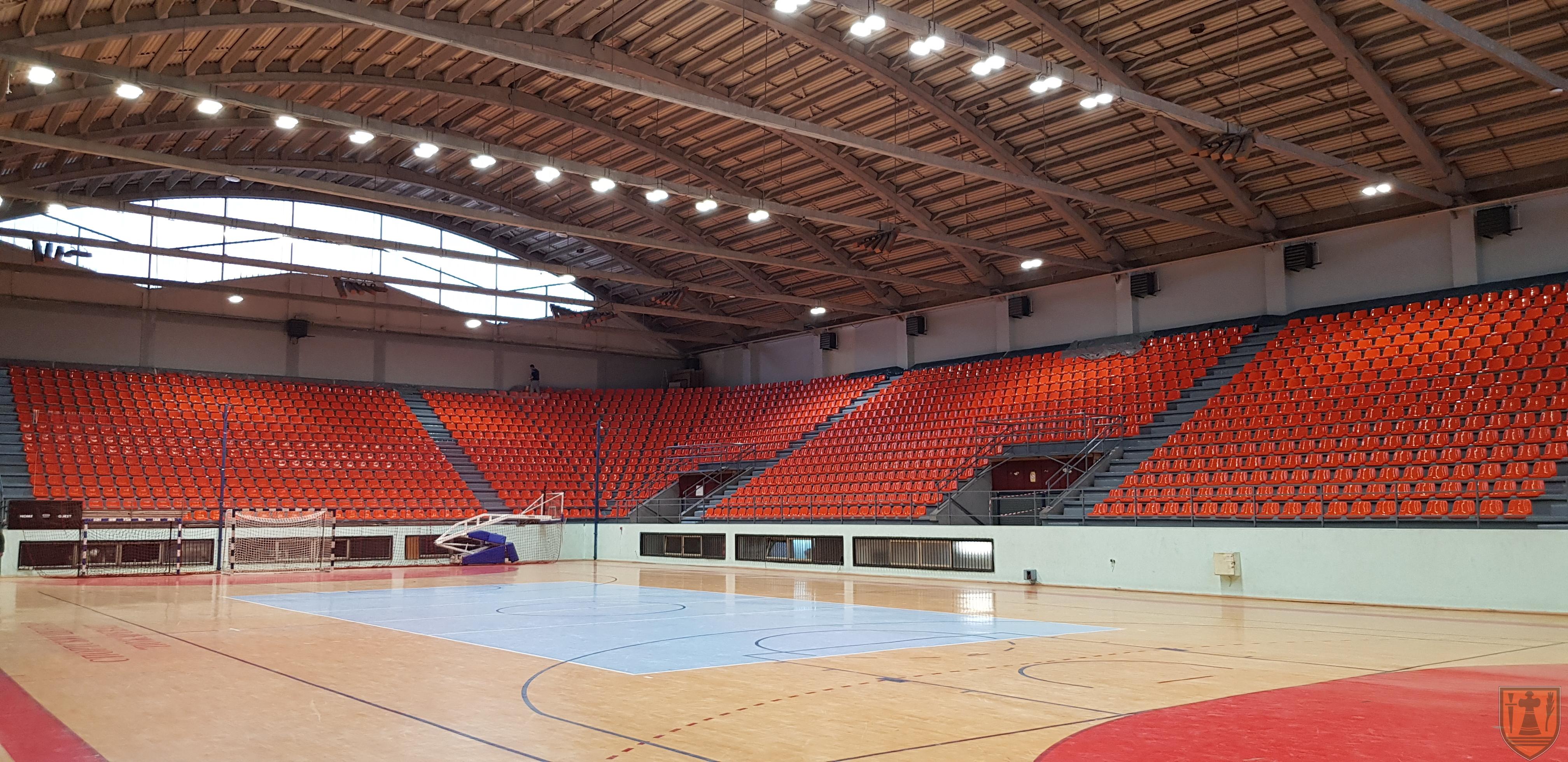 Gradonačelnik Grada Požarevca Bane Spasović sa saradnicima obišao radove na rekonstrukciji Sportskog centra 14720