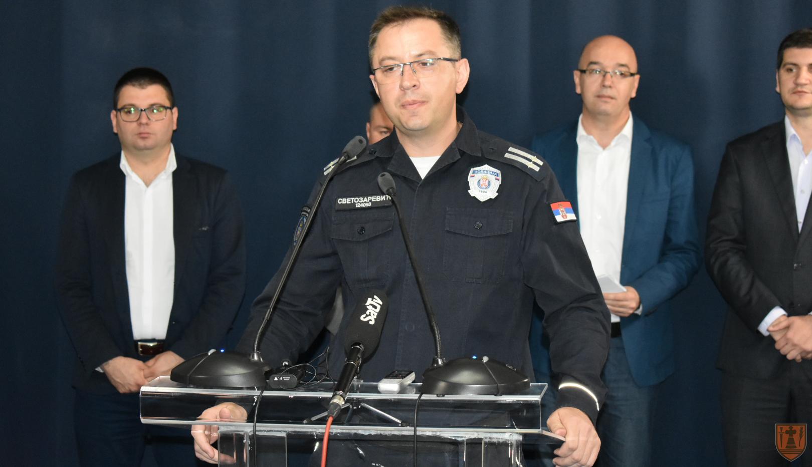Dodeljeni panciri za pripadnike policijske uprave Požarevac 17370